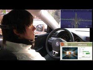 Conduire une voiture par la pensée