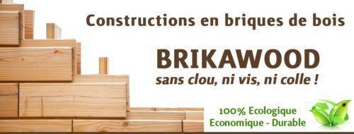 Brikawood : maison passive en bois version briques de lego
