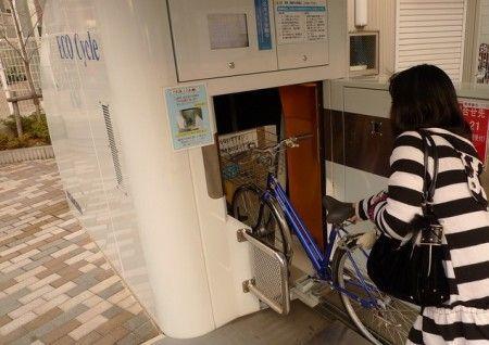 Eco Cycle : parking automatique
