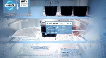 Analyse du frigo en réalité augmentée