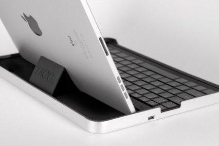 Housse iPad avec clavier bluetooth intégré