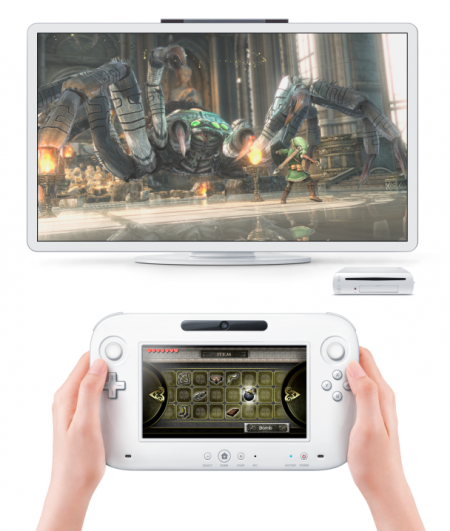 Photo de la nouvelle Nintendo Wii U