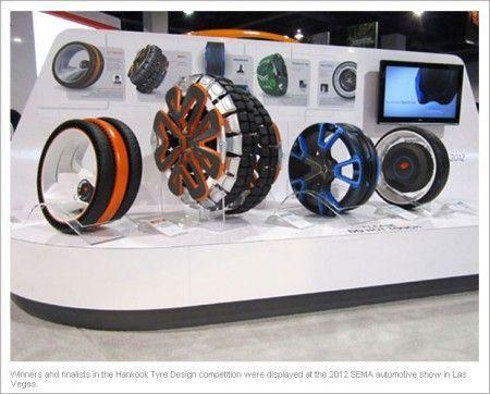 pneus futuristes