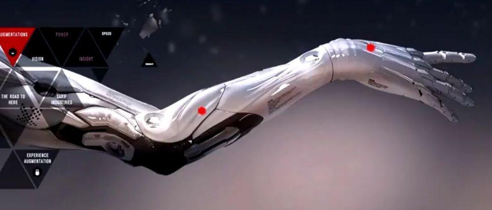 Une prothèse qui remplace un bras uté après un accident