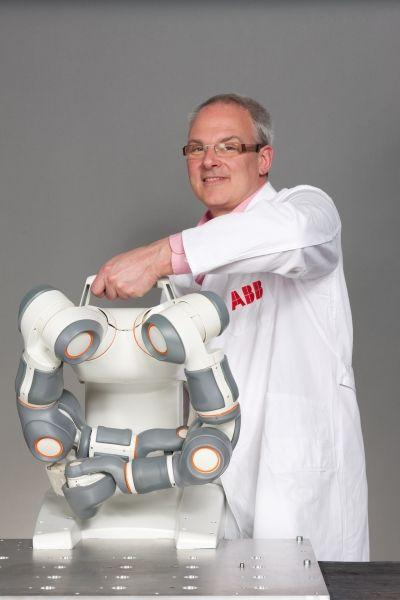 Double bras robotique articulé