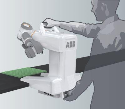Petit robot industriel transportable