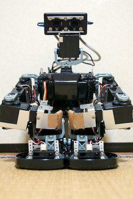 Manipuler un robot avec Kinect