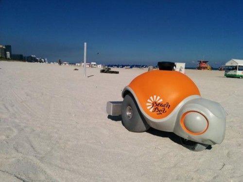 robot-plage